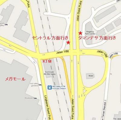 ミッドバレーバス停map.JPG